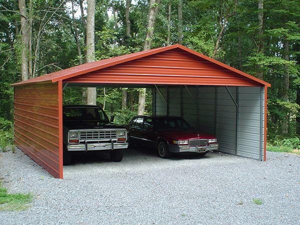 Boxed eve carports carolina carports for Carports online