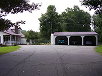 Enclosed Garage Carports